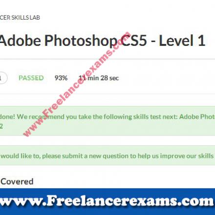 Adobe Photoshop CS5 Level 1