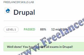Drupal Level 1