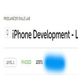 Iphone Development Level 1
