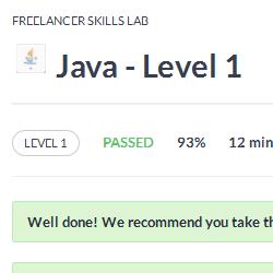 Java Level 1