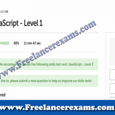 JavaScript level 1