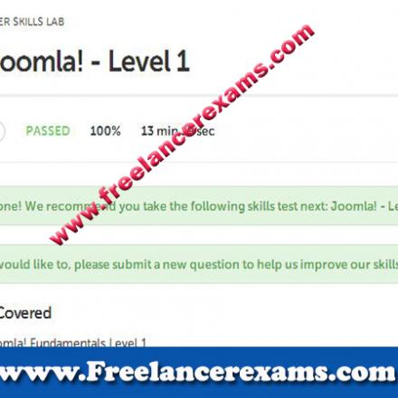 Joomla! Level 1
