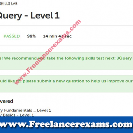 JQuery level 1