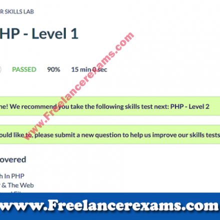 PHP Level 1