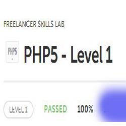 PHP5 Level 1