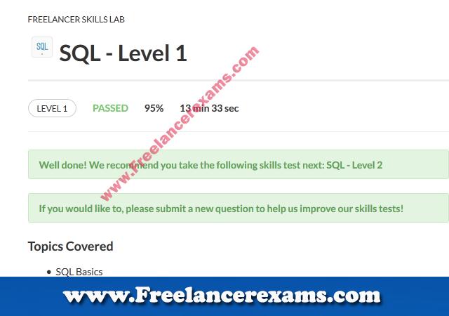 SQL Level 1