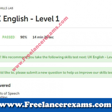UK English Level 1