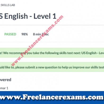 US English Level 1