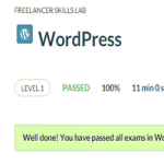 WordPress Level 1