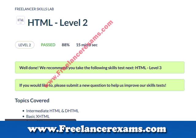 HTML Level 2