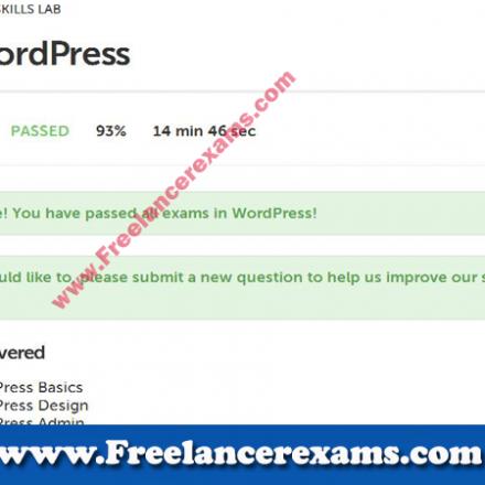 WordPress Level 1